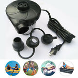 AC Electric Air Pump Inflator Inflatable Boat Mattress Bed raft pool Ball lounge