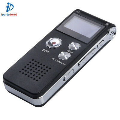 8GB Digital Audio Voice Recorder Best Voice Mini Clip USB Spy pen Mp3 Dictaphone