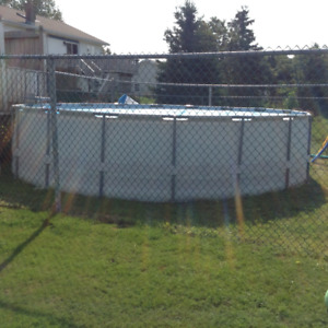 18' x 48 Hydro force pool