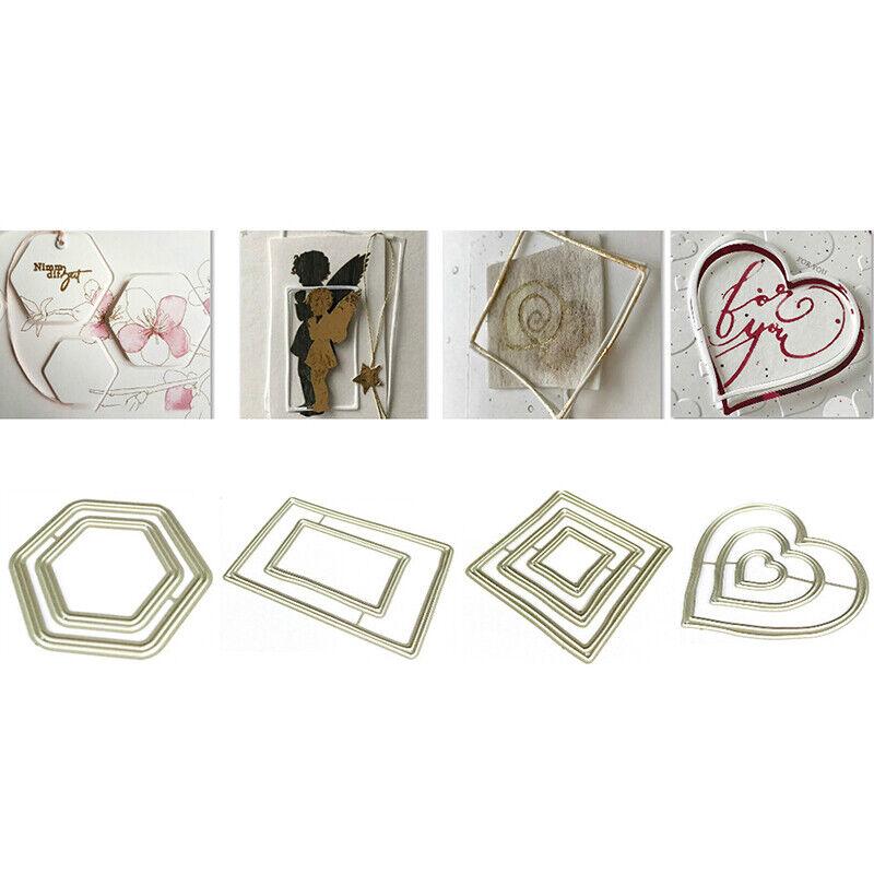 Cup of Flower Metal Cutting Dies Stencils For Scrapbooking DIY Album CardZJP