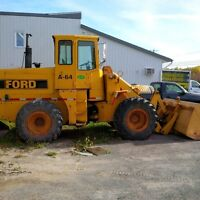 Ford A64 chargeur / loader