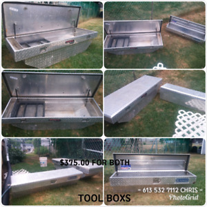SELLING TOOL BOXS FOR ANY MAKE OR MODEL TRUCK.