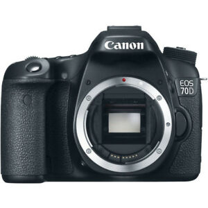 Canon 70d with kit lens (excellent condition)