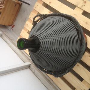 Vintage Spirit/olive oil large vase with faucet. More than 50L