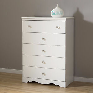 South Shore Crystal 5-Drawer Chest, New