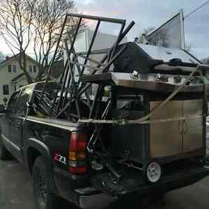 Free appliance, electronic and scrap metal removal
