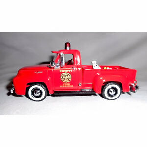 MATCHBOX 'COUNTY FIRE MARSHALL', 1955 FORD F-100 PICKUP TRUCK