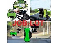 85 x JOBLOT UNIVERSAL WINDSCREEN IN CAR SUCTION MOUNT DASHBOARD HOLDER GPS PDA MOBILE PHONE