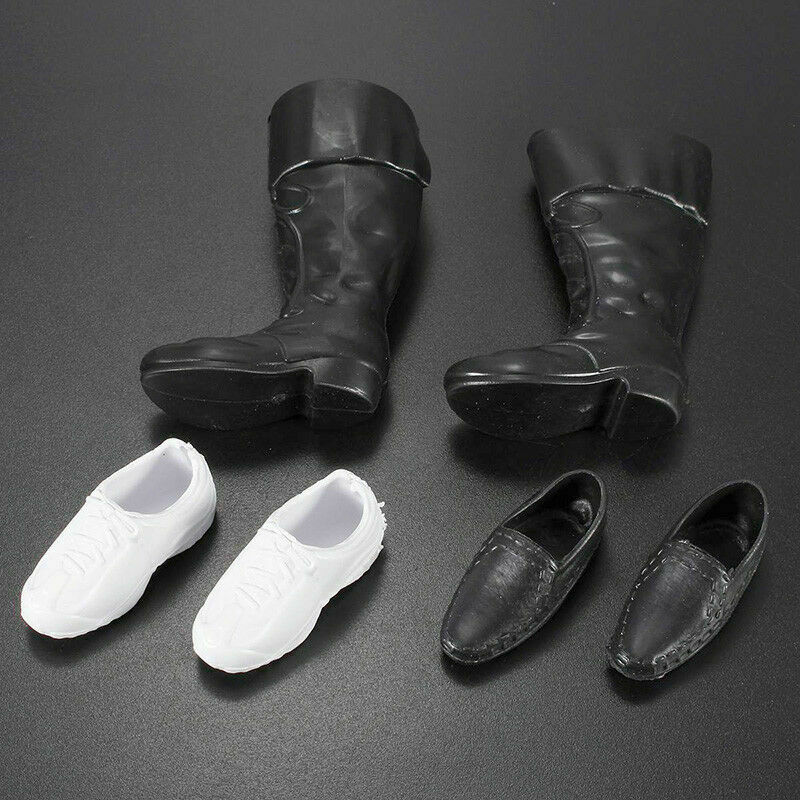 Fashion Handmade Cusp Shoes Boots Sneakers Set For Ken Kids Doll New C7X0