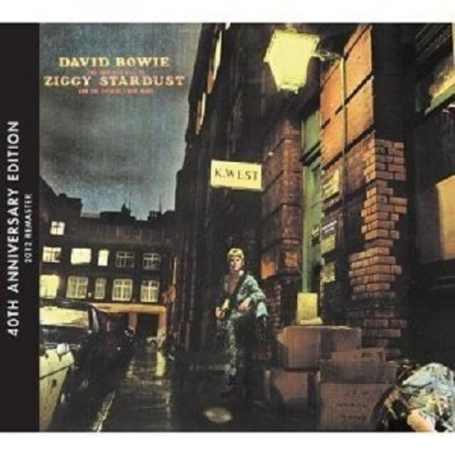 """DAVID BOWIE """"THE RISE AND FALL OF ZIGGY STARDUST""""  CD NEU"""