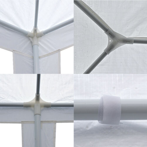 10×30′ Event White Outdoor Wedding Party Tent Patio Gazebo Canopy w/ Side Walls Garden Structures & Shade