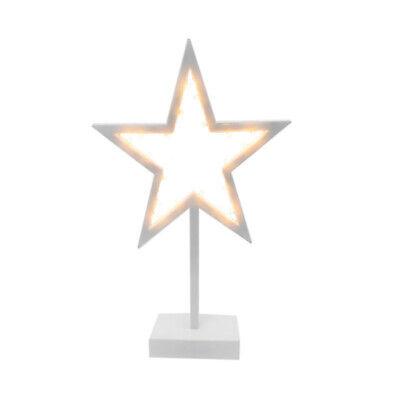 Estrella con 20 led decorativa caja led estrella 38 x 25 x...