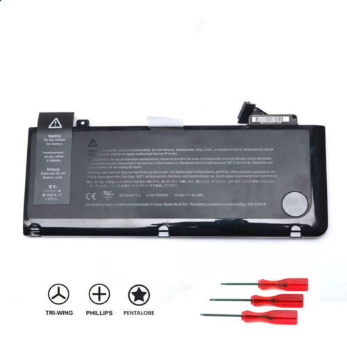 """Genuine A1322 Battery For Apple Macbook Pro 13"""" A1278 Mid 2009/2010/2011/2012OEM"""