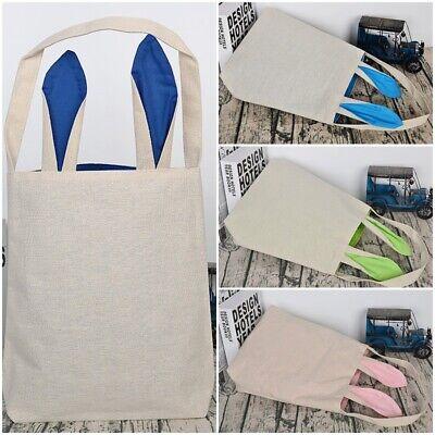 DIY Hand-painted Bunny Bag Rabbit Ear Bag Candy Bag For Easter Gift Popular - Halloween Candy Popular