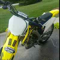 Trade for rmz 450 I can add cash for trade