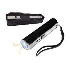 Shock Flash 1 Million Mini Stun Gun Black Flashlight Stun Personal Protection