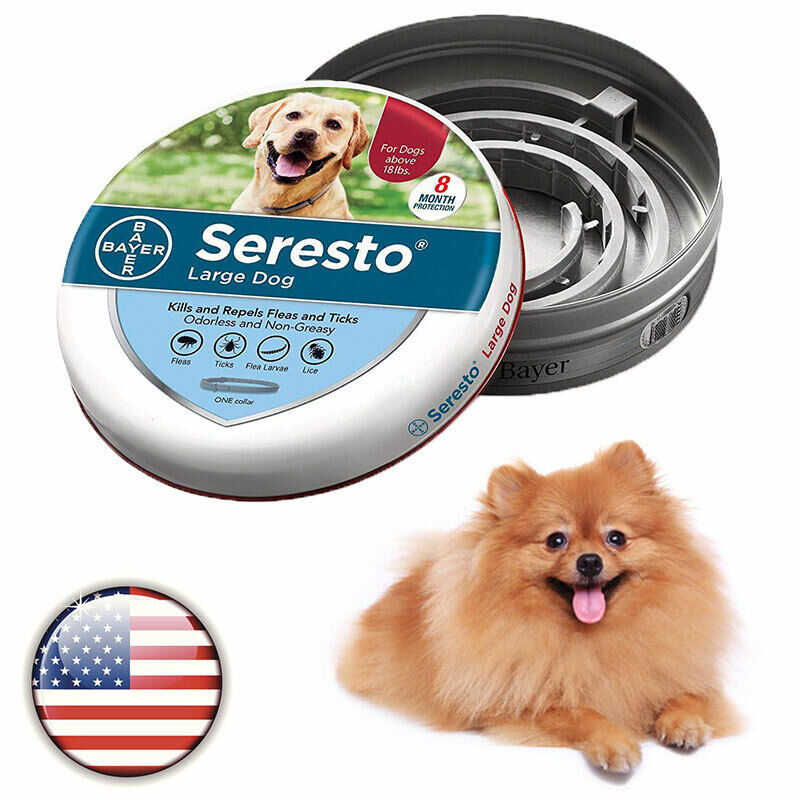 Bayer Flea Cleaner And Seresto Collar Lice Pet Protection For Old Dogs 8 Month