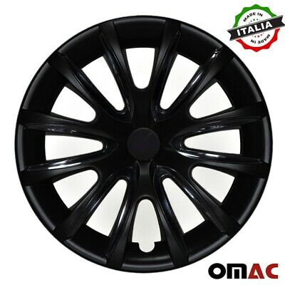"16"" Inch Hubcaps Wheel Rim Cover For Suzuki Glossy Black Insert 4pcs Set"
