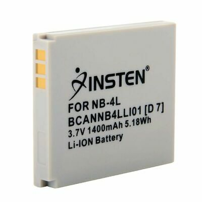 NB-4L INSTEN Battery For Canon PowerShot TX1 SD1400 IS