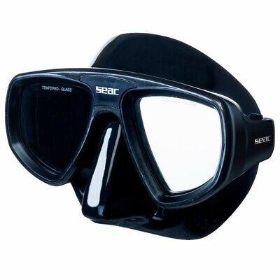 Maschera Sub Seac Extreme Nera Pesca Sub Immersioni Subacquee