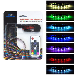 Kingwin  RGB 12 inch long Multi-Color LED Flexible Strip Kit