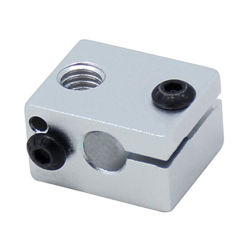 Aluminium Alloy V6 Heat Block For V5 V6 J-head Extruder HotEnd 3D Printers P6P9