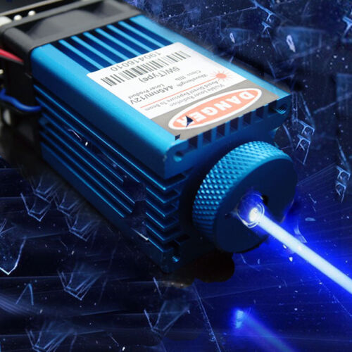 Focusable 450nm 5W-7W Blue Laser Module/TTL/Carving/Burning w/Gift Goggles