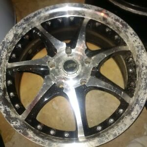 300ZX  4 Rims and 2 Tires - Make an offer