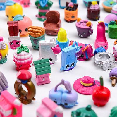 100Pcs Random Shopkins Figure Season 1 2 3 4 5 6 7 8 Kid Toy Girl Doll Xmas Gift