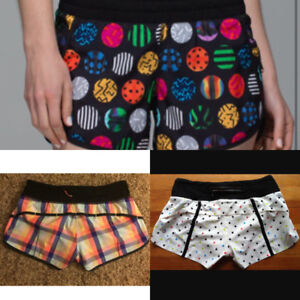 Exclusive Lululemon SeaWheeze Half Marathon Runner's Shorts