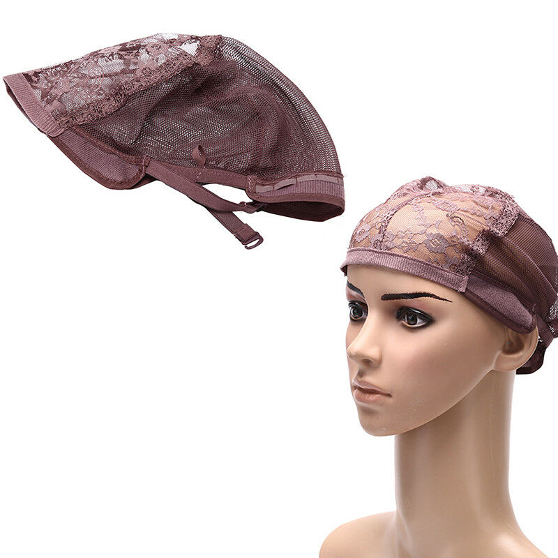 Weaving wig cap adjustable straps for making wigs lace mesh
