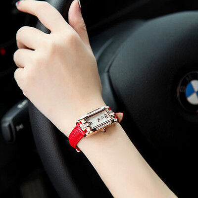 Fashion Watch Women  Casual Quartz Watch Crystal Leather Party Watches