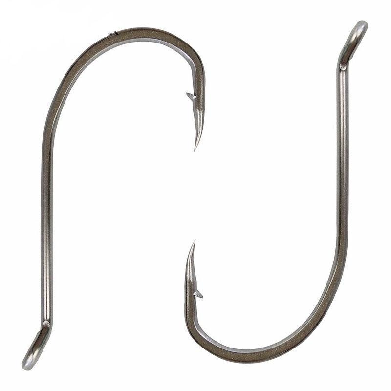 30 pcs Stainless Steel Offset Octopus Fishing Hooks Circle Fishing Hook Set 4//0 5//0 6//0 7//0 8//0