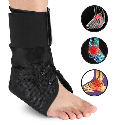 Ankle Brace, Rigid Ankle Stabilizer for Protection & Sprain Support for Sports