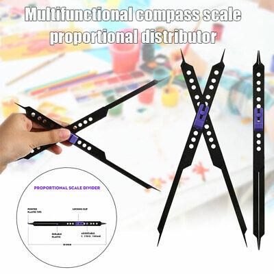10Zoll Proportional Scale Divider Zeichen Werkzeug für Künstler Einstellbarer NI