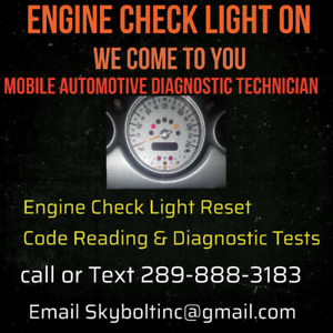 mobile Detailing and engine light scan and reset