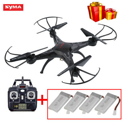 X5C-1 6-Axis RC Quadcopter Drone 2.4Ghz with 2.0M HD Camera with 4PCS Batteries