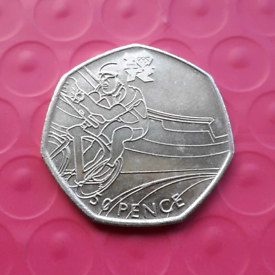 Cycling - Olympics 50p coin