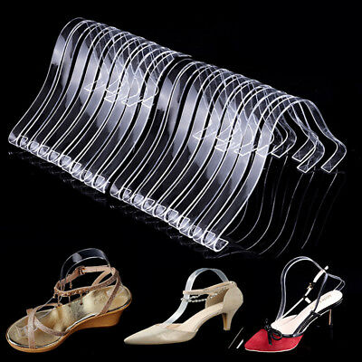 20pcs10 Pair Acrylic Sandal Shoe Store Shoe Retail Shop Display Stand Support