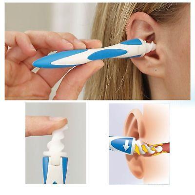 Smart Swab Ohrenpflege Ohrreinigungsgerät Ohrenreiniger Reinigung 16 Ersatzköpfe