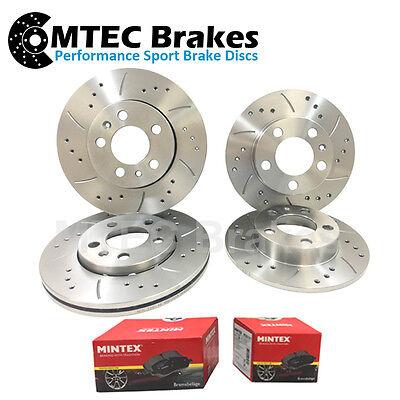 Mazda MX-6 2.5 V6 92-97 Front Rear Brake Discs & Pads