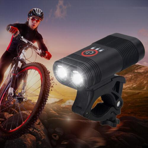 USB BIKE FAHRRAD LICHT LED BELEUCHTUNG FX 70 Lampenset extrem hell Fahrradlampe