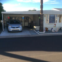 Vacation rental Park Model with AZ room,Towerpoint Resort, Mesa