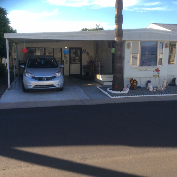 Vacation Rental Park Model With AZ Room,Towerpoint Resort