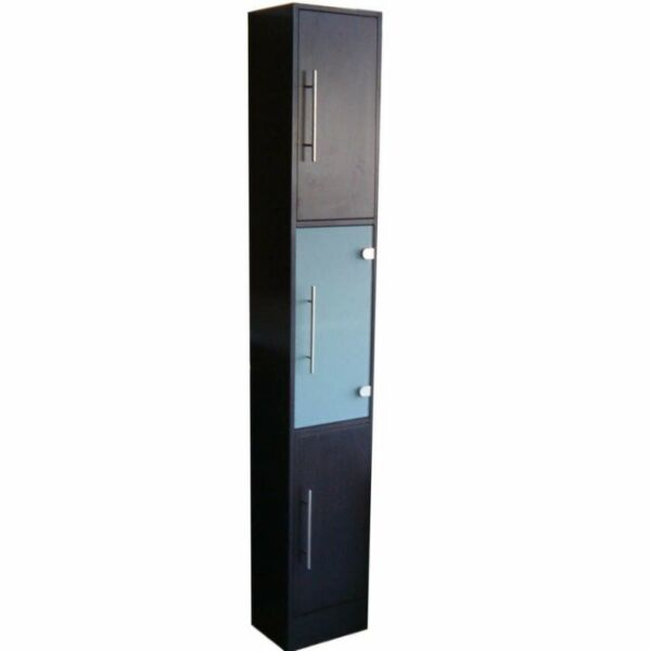 Tall bathroom cabinet storage cabinet 3 doors one - Tall bathroom storage cabinets with doors ...