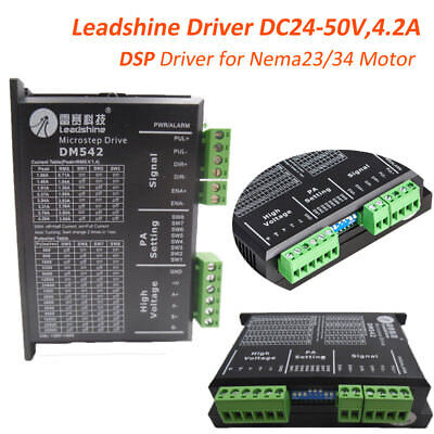 Leadshine Dsp Driver Dc24-50v 2phase 4.2a Controller For Nema23 Nema34 Motor Cnc