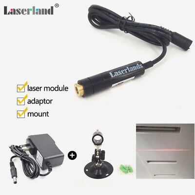 1255mm Focusable 650nm 5mw Red Line Laser Module Plastic Lens Locater Adapter