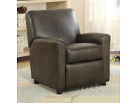 True Innovation Bonded Leather Children's Recliner Kids Chair/Sofa