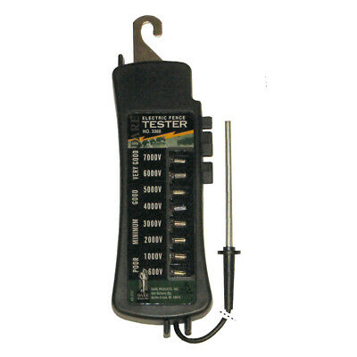 Dare Products  Electric-Powered  Eight Light Tester  Black