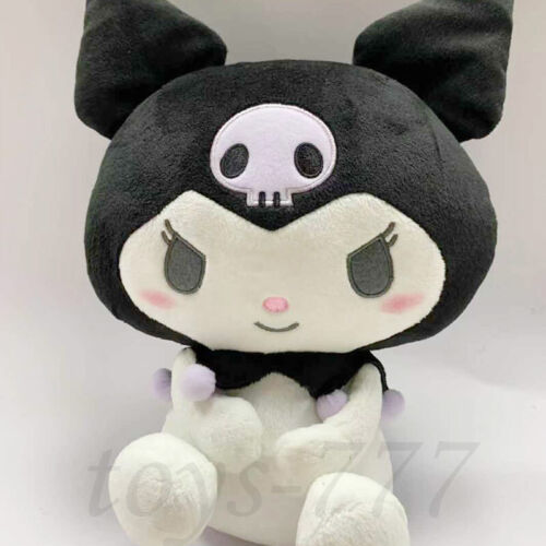 "Sanrio Kuromi 14"" Stuffed Animal Anime Plush Toys Christmas gift Halloween Teddy"